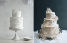 11. zoe clark left, right IncrEdible Endings, frosted icicles in buttercream via Wedding Wire dot com