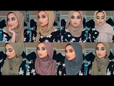 Winter is here and here are some ways I like to style my scarf during winter/cold season! Jersey fabrics are literally the best and so comfortable during col. Simple Hijab Tutorial, Hijab Style Tutorial, Easy Hijab Style, Hijab Fashionista, Winter Is Here, Hijab Outfit, Hijab Styles, Instagram Fashion, Style Me