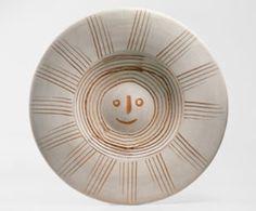 Pablo Picasso, Soleil (recto), 9 avril 1957, pièce unique, Collection particulière