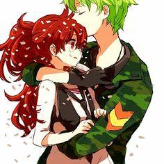 happy tree friends anime flippy and flaky Happy 3 Friends, Happy Tree Friends Flippy, Free Friends, Anime Love, Anime Guys, Anime Couples, Cute Couples, Nagisa, Htf Anime