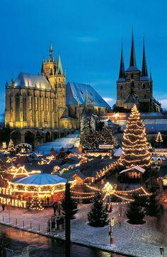 Los mercadillos navideños más bellos de Europa #viajes #travel #Navidad #Christmas