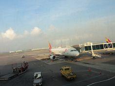 【济州岛机场】着陆
