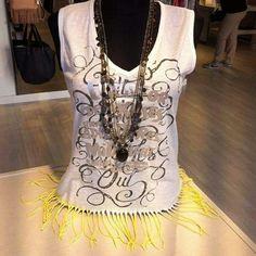 We ❤ camisetas de flecos by #Koker #Shopping #lowcost