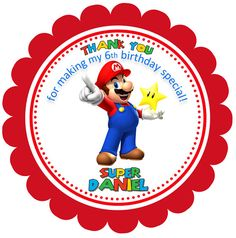Items similar to Super Mario Bros Cupcake Toppers on Etsy Super Mario Birthday, Super Mario Party, Super Mario Bros, Mario Kart, Mario Bros., Happy Birthday Writing, Mario Crafts, Mario Brothers, 1st Birthday Parties