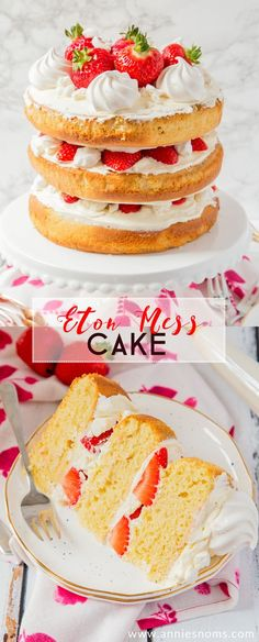 Layers of cake, crea
