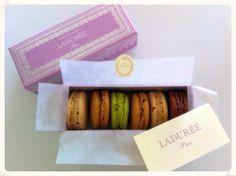 Passion for Macarons #laduree #macarons #rome #patisserie