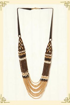 Tribal-inspired necklace from Francesca's