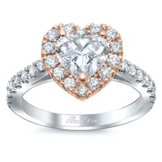 This line of engagement ring settings features our best-selling engagement ring designs: the unforgettable halo setting. These rose gold engagement rings designs are very eye-catching, and the addition of rose gold accents or completely recreating the setting in this brilliant metal give every rose gold engagement a contemporary, chic flair.