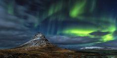 Kirkjufell lights by Nicholas Roemmelt on 500px