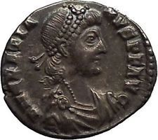Gratian 379AD Trier Authentic Ancient Silver Roman SILIQUA Coin Roma i53409 https://trustedmedievalcoins.wordpress.com/2016/01/24/gratian-379ad-trier-authentic-ancient-silver-roman-siliqua-coin-roma-i53409/