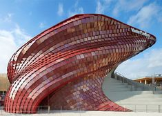 Daniel Libeskind unveils dragon-inspired pavilion at #Milan Expo | #Architecture #dragon via @Dezeen