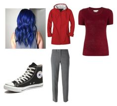 """""""How to cosplay as Dante from Minecraft Diaries"""" by atang-1 on Polyvore featuring prAna, Converse, DKNY, Étoile Isabel Marant, women's clothing, women, female, woman, misses and juniors"""