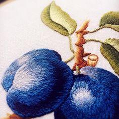 ᆞ #したい #iwanttofollow #stumpwork #embroidery #broderie #자수