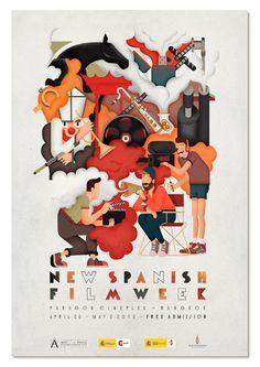 New Spanish Film Week 2012 โปสเตอร์สวยจัง