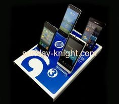 Acrylic display manufacturers customize acrylic large display cell phones stand CPK-084