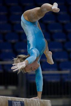 Dorina Boczogo Hungary Podium  41st Artistic Gymnastics World Championship 2009   WAG London balance beam from Kythoni's Gymnastics: The Balance Beam board: http://pinterest.com/kythoni/gymnastics-the-balance-beam/ #KyFun