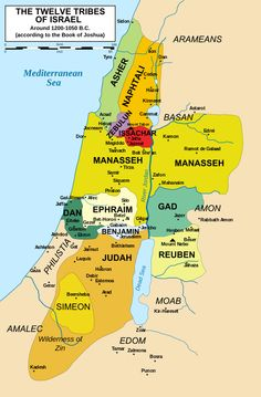 Zebulun Tribe of Israel. Theory of Cherokee origination. As part of the Kingdom of Israel, the territory of Zebulun was conquered by the Assyrians, and the tribe exiled; the manner of their exile lead to their further history being lost. Tribe Of Judah, Book Of Joshua, Joshua Bible, Heiliges Land, Image Jesus, Bibel Journal, Israel Today, Bible Mapping, Bible Knowledge