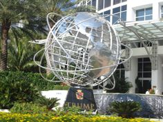 its the statue for the international Trump imperium