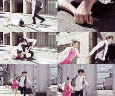 Luego de dejar en el piso al tipo que molestaba a Kotoko, Naoki le entrega una raqueta a Sudo y le pide que se haga cargo de la situación y le demuestre a Yuko lo genial que es. Toma a Kotoko de la mano, mientras se despide de Yuko y sale corriendo con ella - Itazura na Kiss Love in Tokyo Episodio 8