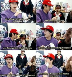 There are reasons why I like Heechul so much and this is one of them