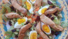 Μετά τα Χριστούγεννα σαλάτα με κοτόπουλο Tacos, Mexican, Ethnic Recipes, Blog, Blogging, Mexicans