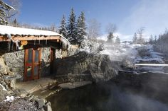 Enjoy an earthy soak and unparalleled views at Strawberry Park Hot Springs in Steamboat Springs.