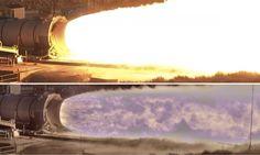 NASA camera testes foguete