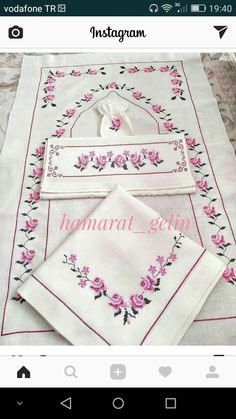 Muslim Prayer Mat, Napkin Folding, Bargello, Crochet Doilies, Diy Painting, Hand Embroidery, Cross Stitch Patterns, Diy And Crafts, Projects To Try
