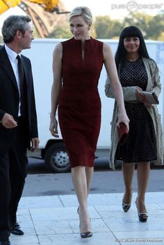 Princess Charlene of Monaco - Akris Fashion Show Lady Capulet strict control prison