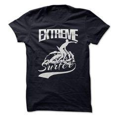 Extreme surfer T Shirts, Hoodies, Sweatshirts. CHECK PRICE ==► https://www.sunfrog.com/Sports/Extreme-surfer.html?41382