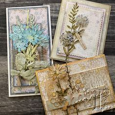 Sizzix - Thinlits Die Set by Tim Holtz - Wildflower Stems :) Tim Holtz Dies, Tim Holtz Stamps, Sizzix Dies, Timmy Time, Die Cut Cards, Paper Artist, Copics, Paper Cards, Vintage Cards