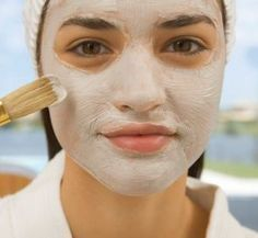 Acne And Oily Skin Get Rid Of Your Acne For Good! Acne is a nightmare cosmetic problem for sure. Many acne patients somet. Natural Facial, Natural Skin Care, Natural Beauty, Facial Masks, Facial Hair, Beauty Care, Beauty Hacks, Beauty Tips, Top Beauty