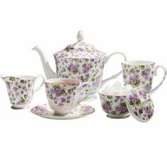 tea sets for adults | Violet Tea Set