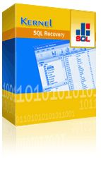 Purchase Online Kernel for SQL Database Recovery Tool