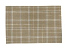 Rectangular shaped Cream Plaid Fieldstone Placemat from Park Designs. Coordinates with separately available Cream Crimped Napkin Ring Natural Home Decor, Placemat, Napkin Rings, Plaid, Cream, Design, Gingham, Creme Caramel, Scotch