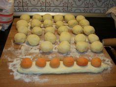 Meruňkové knedlíky
