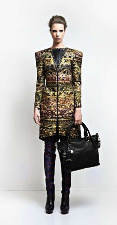 Baroque Sophistication Catalogs - The Dora Abodi Autumn/Winter 2014 Collection is Cultured (GALLERY)