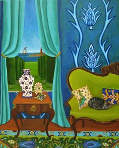 For Today, painting by artist Catherine Nolin