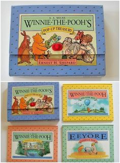 Winnie the Pooh Pop Up Treasury Books A. A. Milne Anytime Books Hardcover 1996