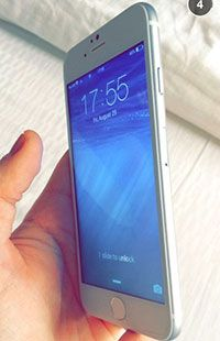 """Exclusive: 4.7"""" Apple iPhone 6 snapped with a working display - GSMArena.com news"""