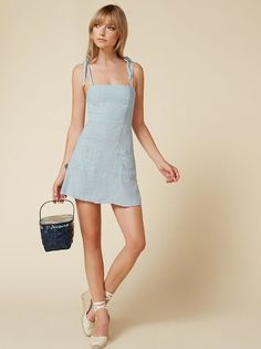 The Jilly Dress  https://www.thereformation.com/products/jilly-dress-baby-blue?utm_source=pinterest&utm_medium=organic&utm_campaign=PinterestOwnedPins