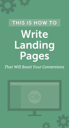 Everything you need to know about rocking a landing page! http://coschedule.com/blog/how-to-write-landing-pages/?utm_campaign=coschedule&utm_source=pinterest&utm_medium=CoSchedule&utm_content=How%20To%20Write%20Landing%20Pages%20That%20Will%20Boost%20Your%20Conversions