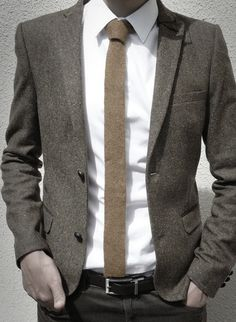 Love this tie and jacket combo