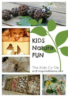 Kids Nature Fun with The Weekly Kids Co-Op at B-InspiredMama.com