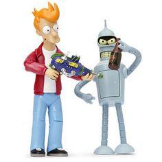 Futurama action figures, un par de clásicos que todos queremos en nuestra colección