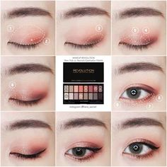Korean makeup tutorials: Spend money on quality makeup brushes for applying your. - My Best Makeup List Korean Makeup Look, Korean Makeup Tips, Asian Eye Makeup, Korean Makeup Tutorials, Makeup Trends, Makeup Inspo, Beauty Makeup, Asian Make Up, Eye Make Up