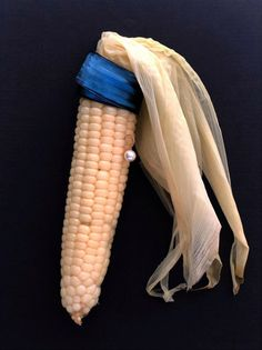CORN WITH A PEARL EARRING by artist Nanan Kang