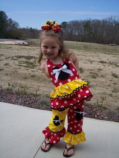different colors and no mickie on the pants. Little Girl Outfits, Little Girl Fashion, Kids Outfits, Disney World Outfits, Disneyland Outfits, Capri Outfits, Tutu Outfits, Toddler Pageant, Toddler Girl