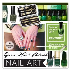 """""""Green With Envy * Wintery Nail Polish"""" by calamity-jane-always ❤ liked on Polyvore featuring beauty, OPI, Newgate, Dolce&Gabbana, Lord & Taylor, Beauty and beautyset"""