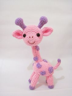 Gigi The Giraffe Amigurumi Pattern